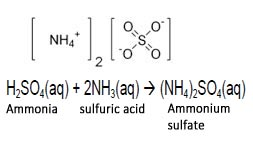 how to make ammonium sulphate equation